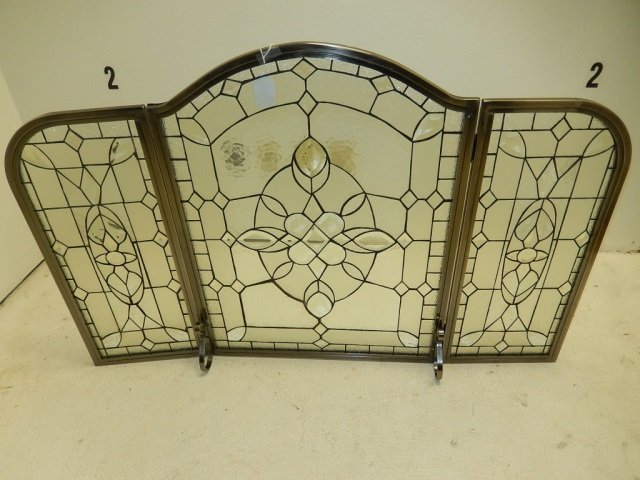 Leaded Glass Fireplace Screens Find this Pin and more on