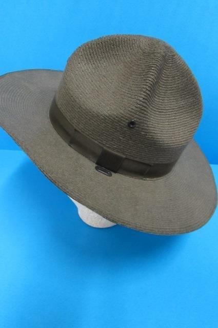 THE LAWMAN HAT MEN'S HAT, GENUINE MILAN, STIFF WOVEN - 2