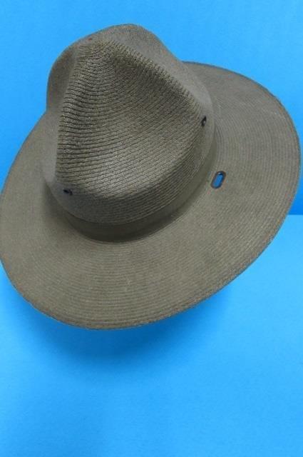 THE LAWMAN HAT MEN'S HAT, GENUINE MILAN, STIFF WOVEN - 4
