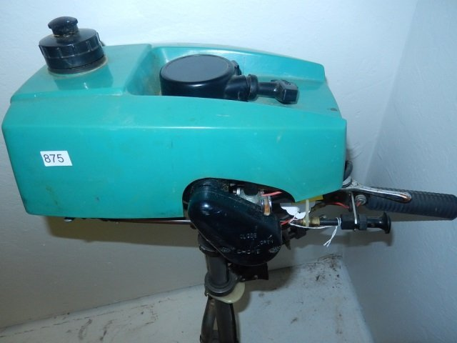 CRUISE N CARRY OUTBOARD MOTOR MODEL 6600, OUTBOARD - 5