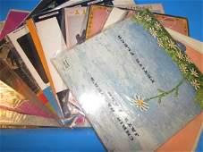 VINTAGE VINYL RECORD ALBUMS 40 BOX LOT INCLUDES