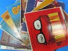 VINTAGE VINYL RECORD ALBUMS 40 BOX LOT INCLUDES ROY