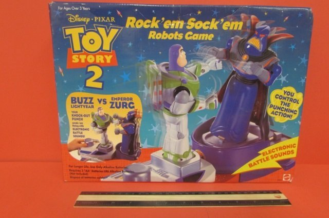 TOY STORY ROCK'EM SOCK'EM ROBOTS GAME ORIGINAL