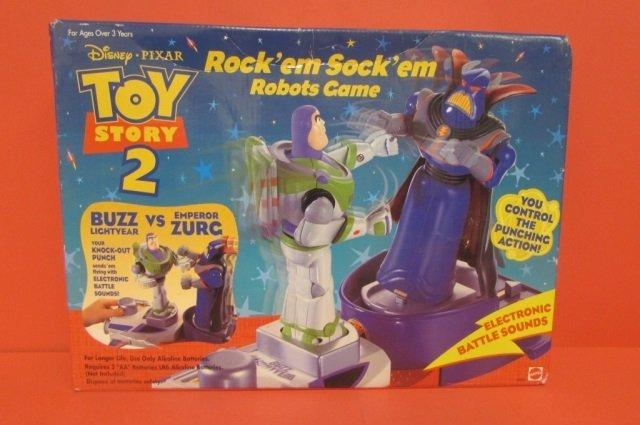 TOY STORY ROCK'EM SOCK'EM ROBOTS GAME ORIGINAL - 2