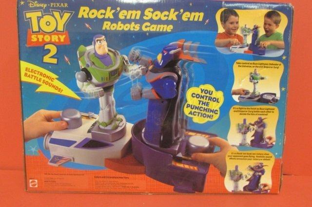 TOY STORY ROCK'EM SOCK'EM ROBOTS GAME ORIGINAL - 3