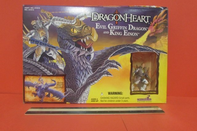 DRAGON HEART EVIL GRIFFIN DRAGON AND KING EINON