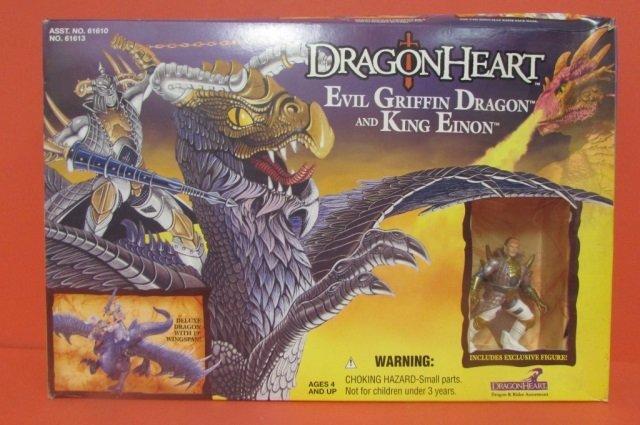 DRAGON HEART EVIL GRIFFIN DRAGON AND KING EINON - 2