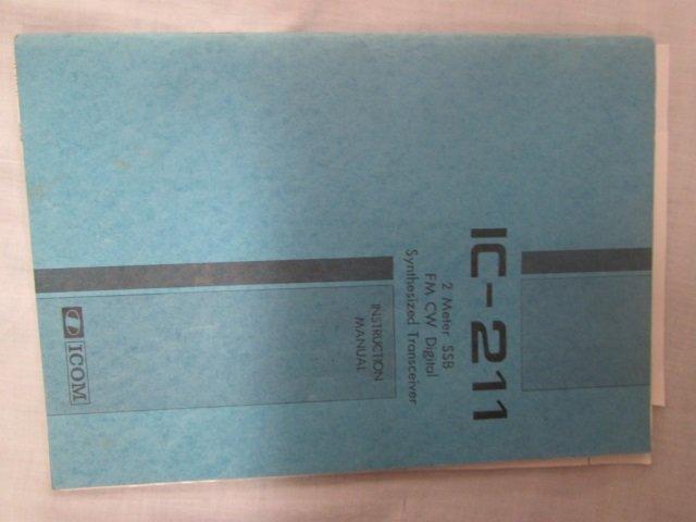 ICOM RADIO TRANSCEIVER WITH MANUAL IC 211 ICOM RADIO - 4