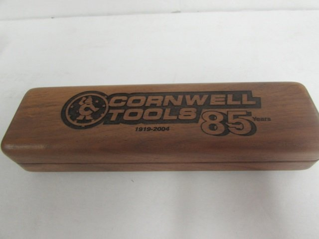 CORNWELL TOOLS GOLD PLATED RATCHET COMES IN WOOD CASE, - 5