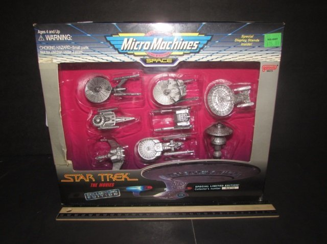 STAR TREK COLECTORS EDITION SPACE MICRO MACHINES NEW IN