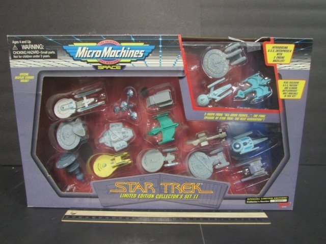STAR TREK COLLECTORS EDITION SPACE MICRO MACHINES NEW