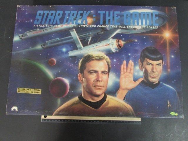 STAR TREK THE GAME BOARD GAME 1997, IN ORIGINAL BOX BUT