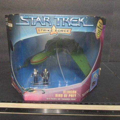 STAR TREK STRIKE FORCE KLINGON BIRD OF PREY NEW IN