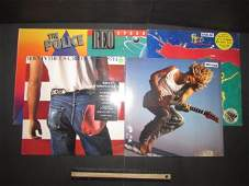 VINYL RECORDS (5) ALL ARE SEALED, 1984 REO SPEEDWAGON,