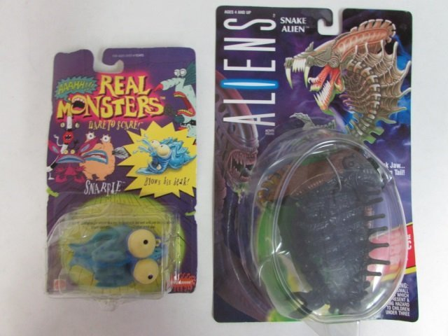 ALIENS & AAAHH REAL MONSTERS TOYS (4) ALL ARE NEW IN - 3