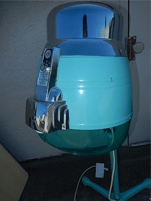 VINTAGE AQUA HAIR DRYER ABOUT 53 INCHES TALL FROM SEARS - 5
