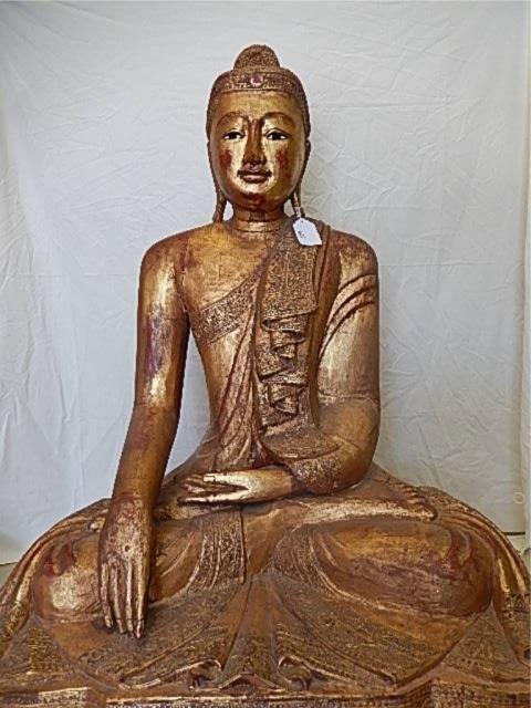 GAUTAMA WOOD BUDDHA STATUE