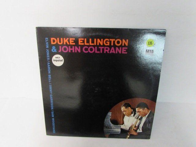 ELLINGTON-COLTRANE JAZZ VINYL RECORD