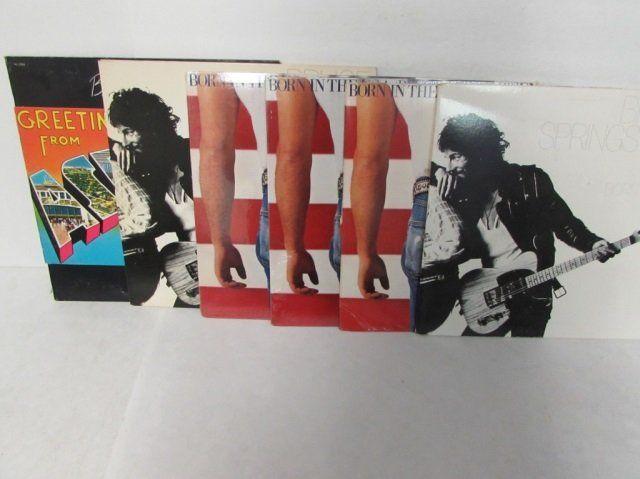 BRUCE SPRINGSTEEN VINYL RECORD LOT 6 LPS