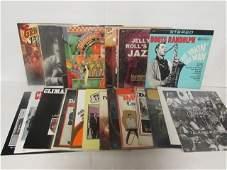 ASSORTED JAZZ VINYL RECORDS