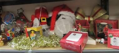 CHRISTMAS SHELF LOTORNAMENTSMISC