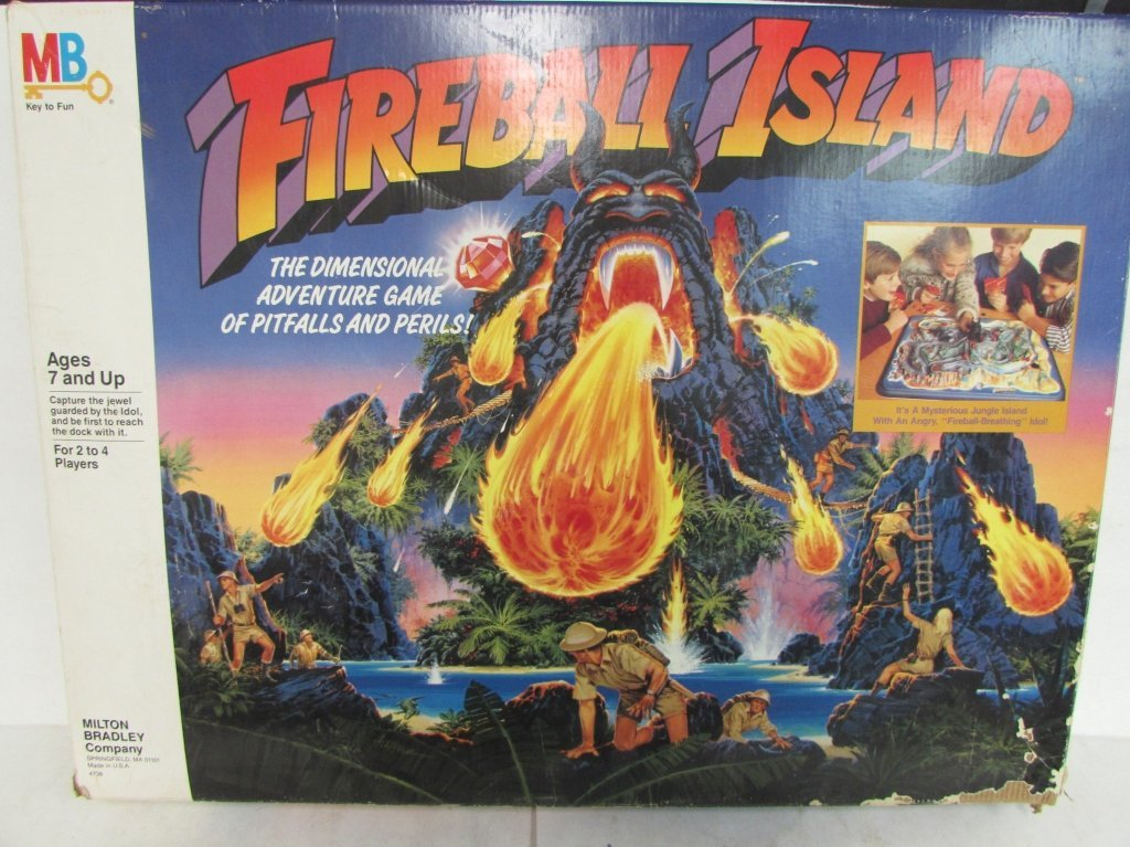 1986 FIREBALL ISLAND GAME