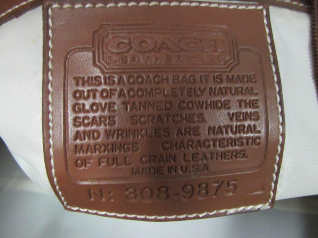 COACH DUFFLE BAG - 4