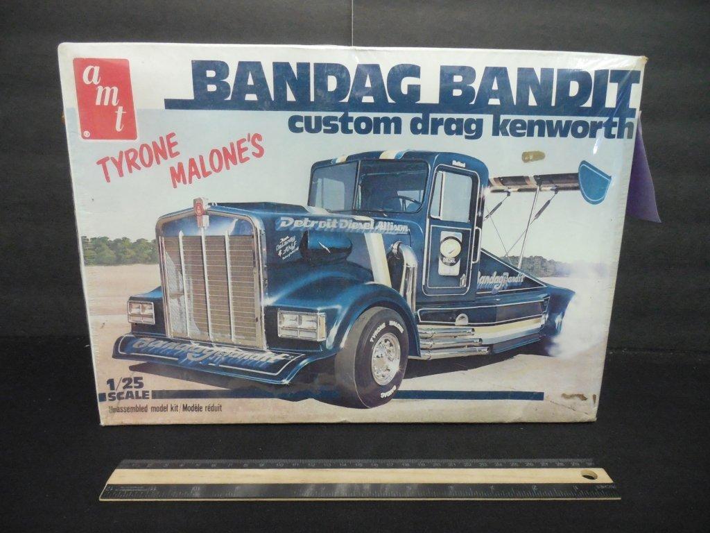 BANDAG BANDIT CUSTOM DRAG KENWORTH MODEL KIT