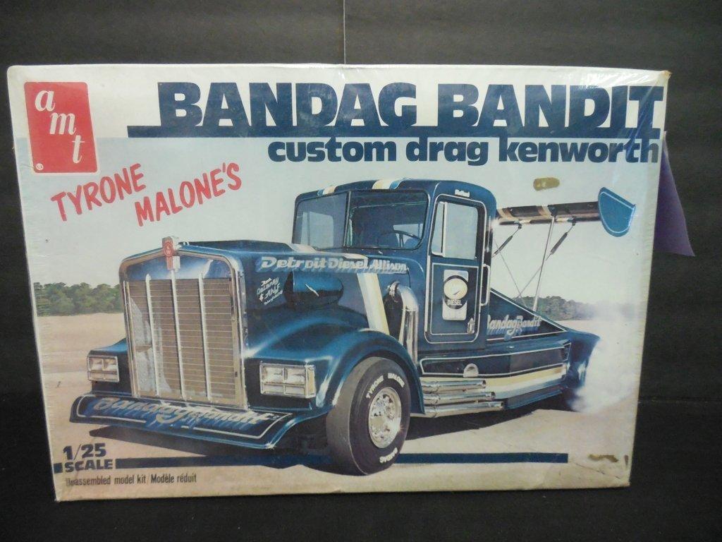 BANDAG BANDIT CUSTOM DRAG KENWORTH MODEL KIT - 2