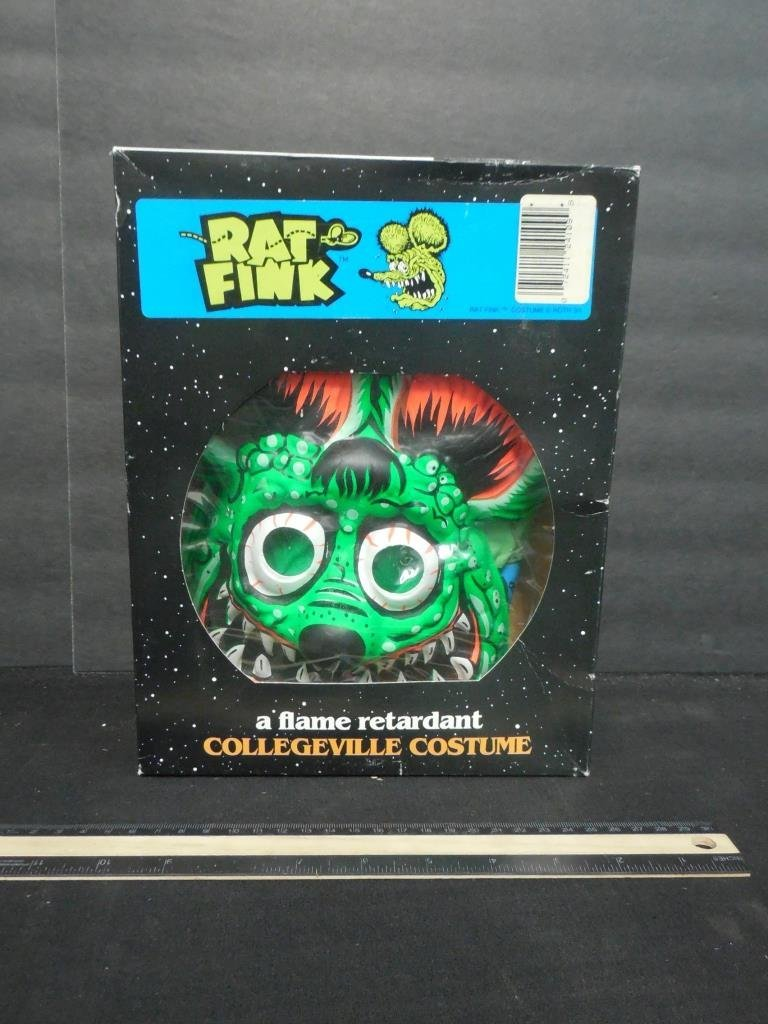 RAT FINK COSTUME WITH MASK