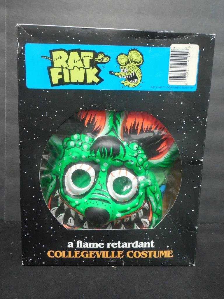 RAT FINK COSTUME WITH MASK - 2