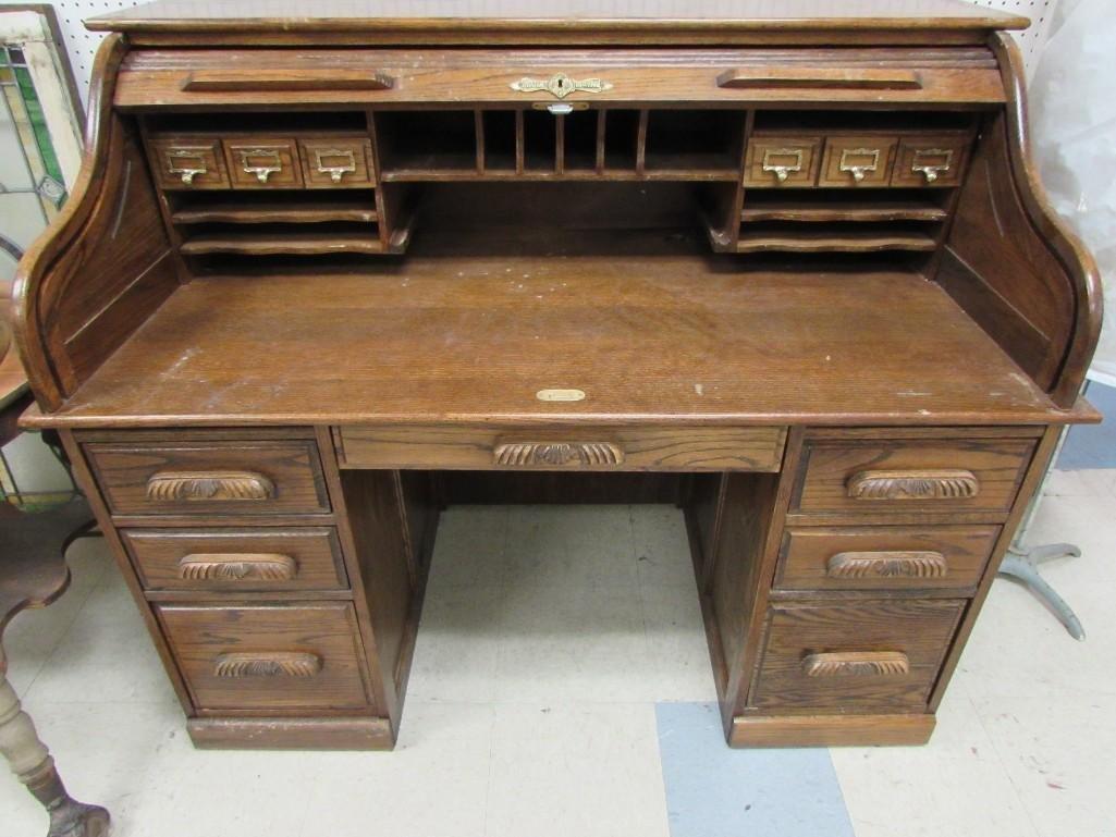 Mark Wayne Roll Top Desk