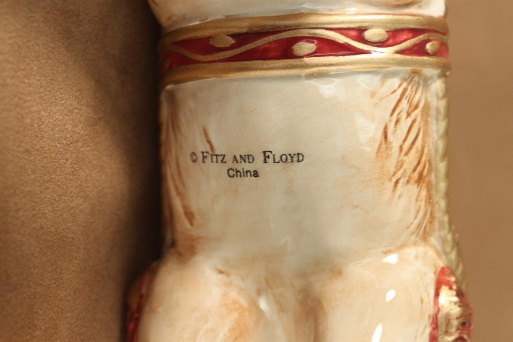 Fitz and Floyd Reindeer Candle Holders (2) - 7