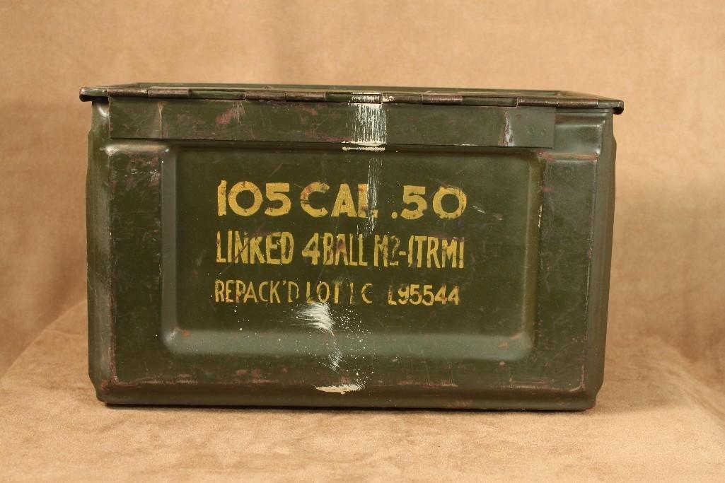 Vintage Military Ammo Boxes (2) - 2
