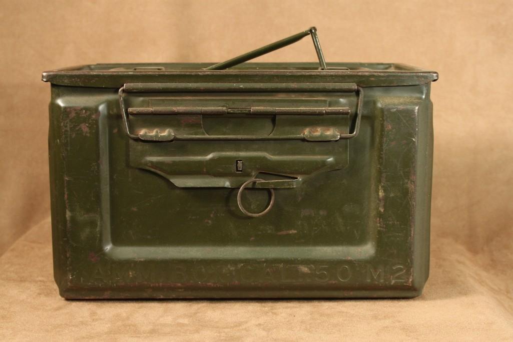 Vintage Military Ammo Boxes (2) - 3
