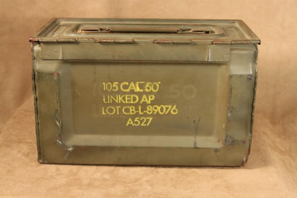 Vintage Military Ammo Boxes (2) - 4
