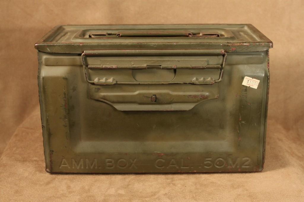 Vintage Military Ammo Boxes (2) - 5