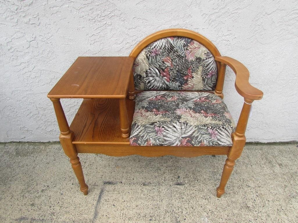 Telephone Table Chair Combo