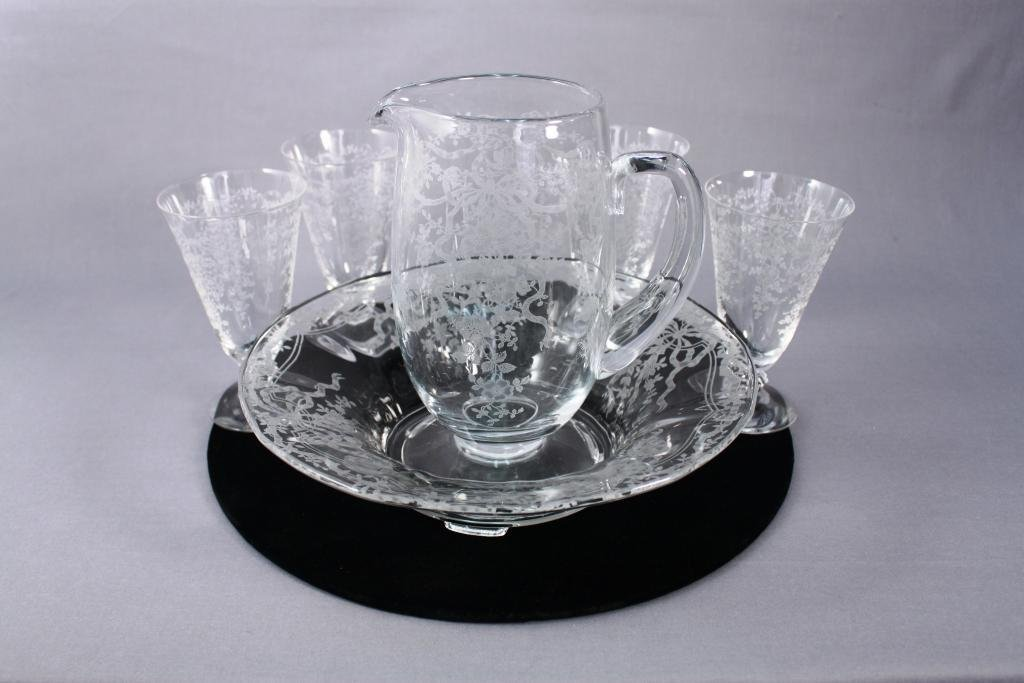 Etched Depression Glass (6)