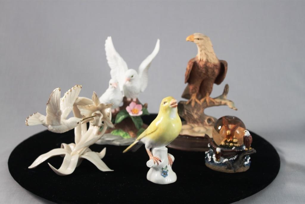 Bird Figurines (5)