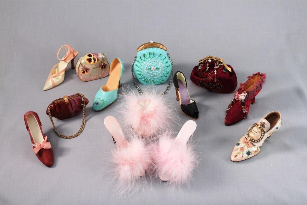 Miniature Shoe and Purse Collection