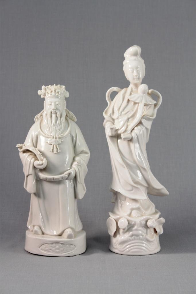 Asian Porcelain Statues (2)