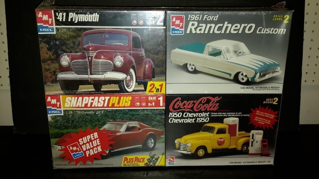 AMT Classic Model Kit Value-Pack