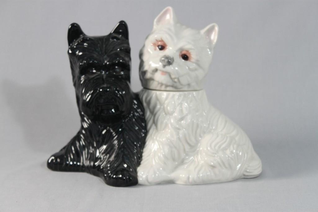 Glass Dog Figurine Decanter
