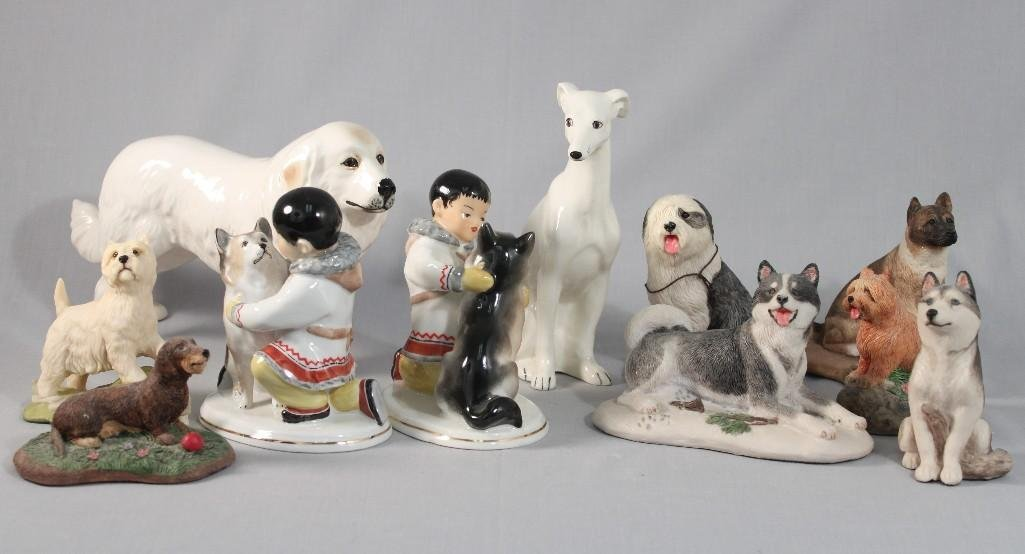 Dog Figurines (11)