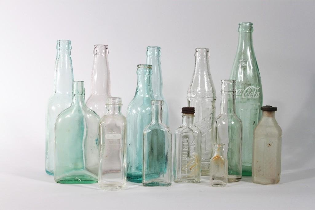 Vintage Collectible Glass Bottles (13)