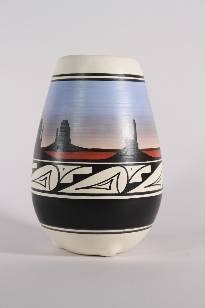 Cedar Mesa Signature Pottery Vase