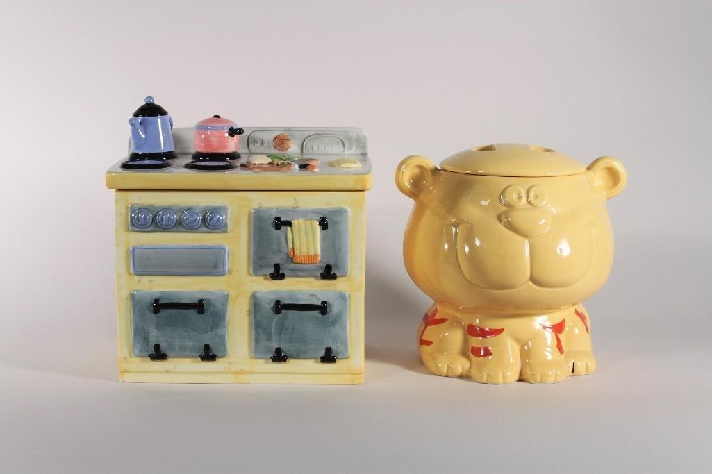 Ceramic Cookie Jars (2)