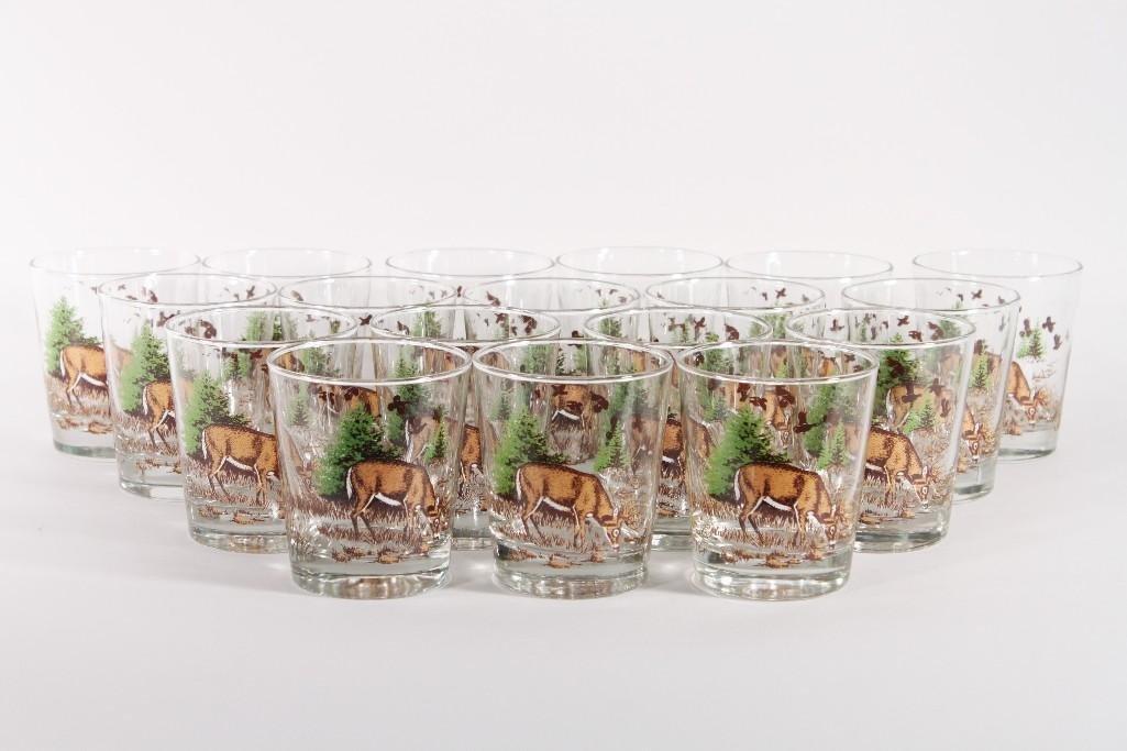 Deer themed Glassware (30)