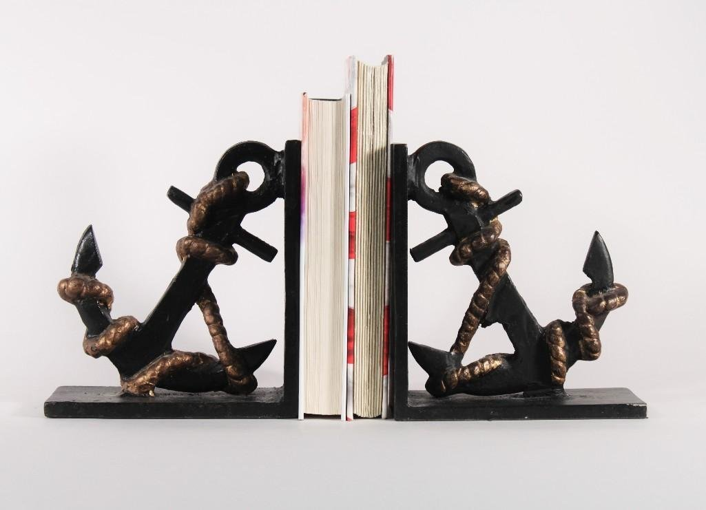 Anchor Bookends (pair)